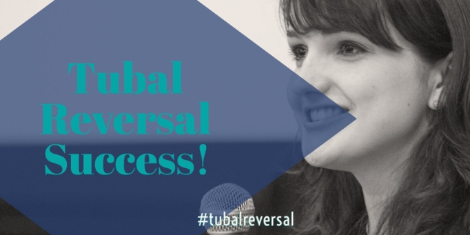 Tubal Reversal Success!